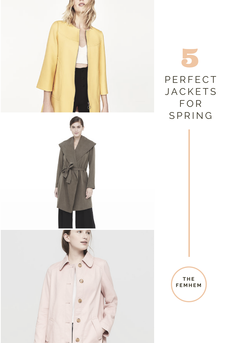 Coats for spring